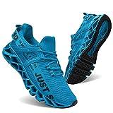 JSLEAP Turnschuhe für Männer Sportschuhe Laufschuhe Atmungsaktiv Leichte Turnschuhe
