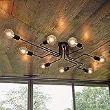OYIPRO Moderno Lampadari Plafoniere lampada 8 E27 Per soggiorno ristorante camera da letto...