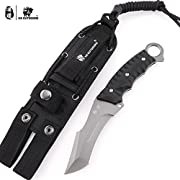 HX OUTDOORS Army Survival Tactical Knife Outdoor Tool Fixed-Blade Knives Camping Hiking Tools