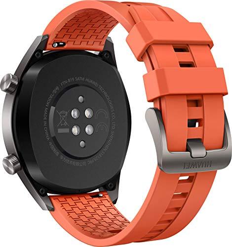 Huawei Watch GT Active Smartwatch (46 mm Amoled Touchscreen, GPS, Fitness Tracker, Herzfrequenzmessung, 5 ATM wasserdicht) Orange - 3