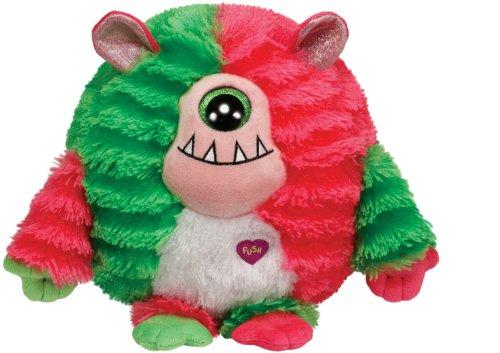 TY 37114 - Plüschtier Monstaz, Spike Monster, rot/grün