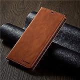 GHC Fundas & Covers para iPhone 12/12 Pro / 12 Pro MAX 12 Mini, Caja de Negocios de Billetera de Negocios Slots de Tarjeta magnética de Cuero Flip Stand Cover para iPhone 12 Mini 11 Pro MAX