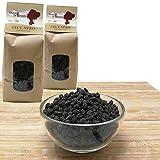 DonnAssunta Sicilian Dried Legumes N. 2X500 gr Fríjoles, lentejas, garbanzos, frutos secos, garbanzos negros cultivados de forma natural y seleccionados a mano (Garbanzo negro)