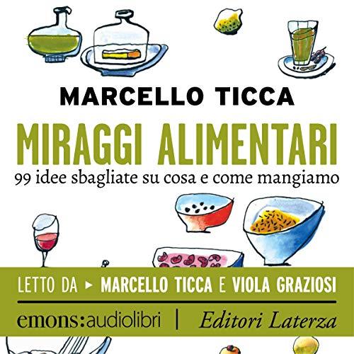 Miraggi alimentari audiobook cover art