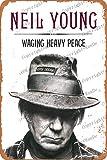 Cimily Neil Young Zinn Wand Zeichen Retro Kunst Eisen