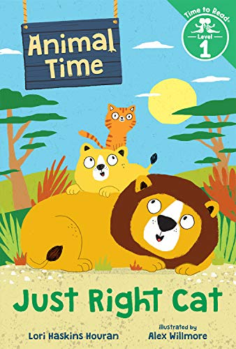 Just Right Cat (Animal Time: Time to Read, Level 1) (English Edition)