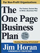 The One Page Business Plan for Non-Profit Organizations by James T. Horan Jr. (2006-12-27)