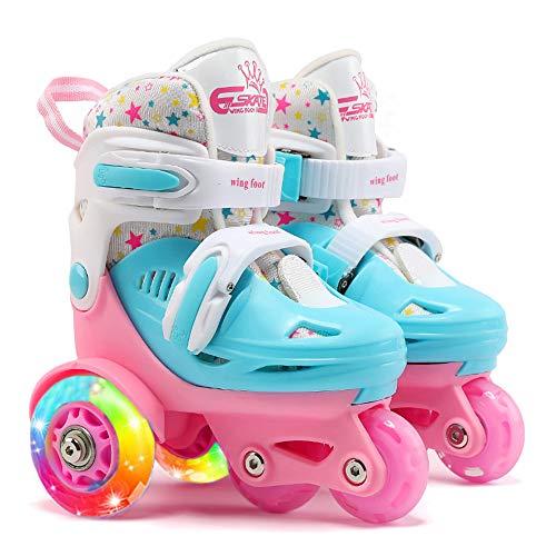 LED Rollschuhe für Kinder, größenverstellbare...