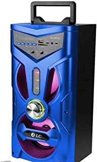 Rechargeable Speaker Bluetooth With Disco Light and Wire MIke