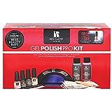 RC Red Carpet Manicure Gel Polish Pro Kit, Black LED Light