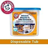Arm & Hammer FGAH14 14 Moisture Absorber & Max Odor Eliminator Tub, 14...