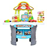 Kids Play Grocery Store Mart Cashier Play Set - Supermarket Play Pretend Grocery...