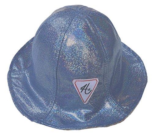Bigood Chapeau Camping Unisexe Coton Dentelle Pêche Soleil Pliable Mode Bleu