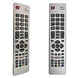 FOXRMT Ersatz Fernbedienung SHW/RMC / 0121 für Sharp Aquos SHWRMC0121 Fernbedienung für LCD LED 3D HD Smart TVs