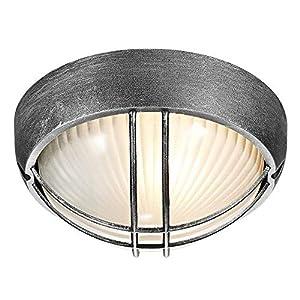 Lámpara de Porche o de Pared para Exteriores, de Mampara Circular ...