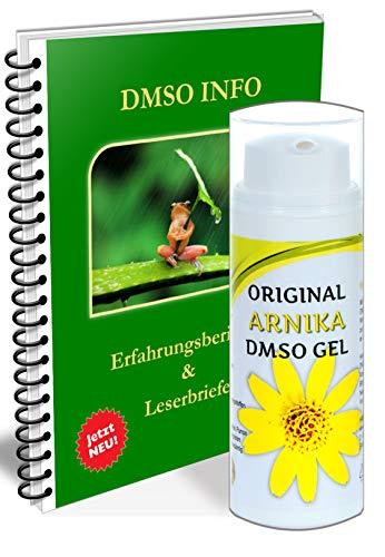 Leivys DMSO GEL Salbe Arnika hochdosiert mit PDF Buch zu Erfahrungen Wirkung Anwendung Dosierung 50ml