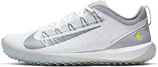 Nike Alpha Huarache 7 Pro TF LAX - White-Volt 10