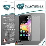 Slabo 4 x Bildschirmschutzfolie für Wiko Rainbow Up Bildschirmfolie Schutzfolie Folie Zubehör No Reflexion MATT