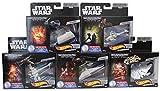 Hot-Wheels Juego de 5 Naves espaciales de Star Wars, vehculos de Juguete, Autos de Juguete para coleccionar y Jugar para nios y fanticos (Set B)