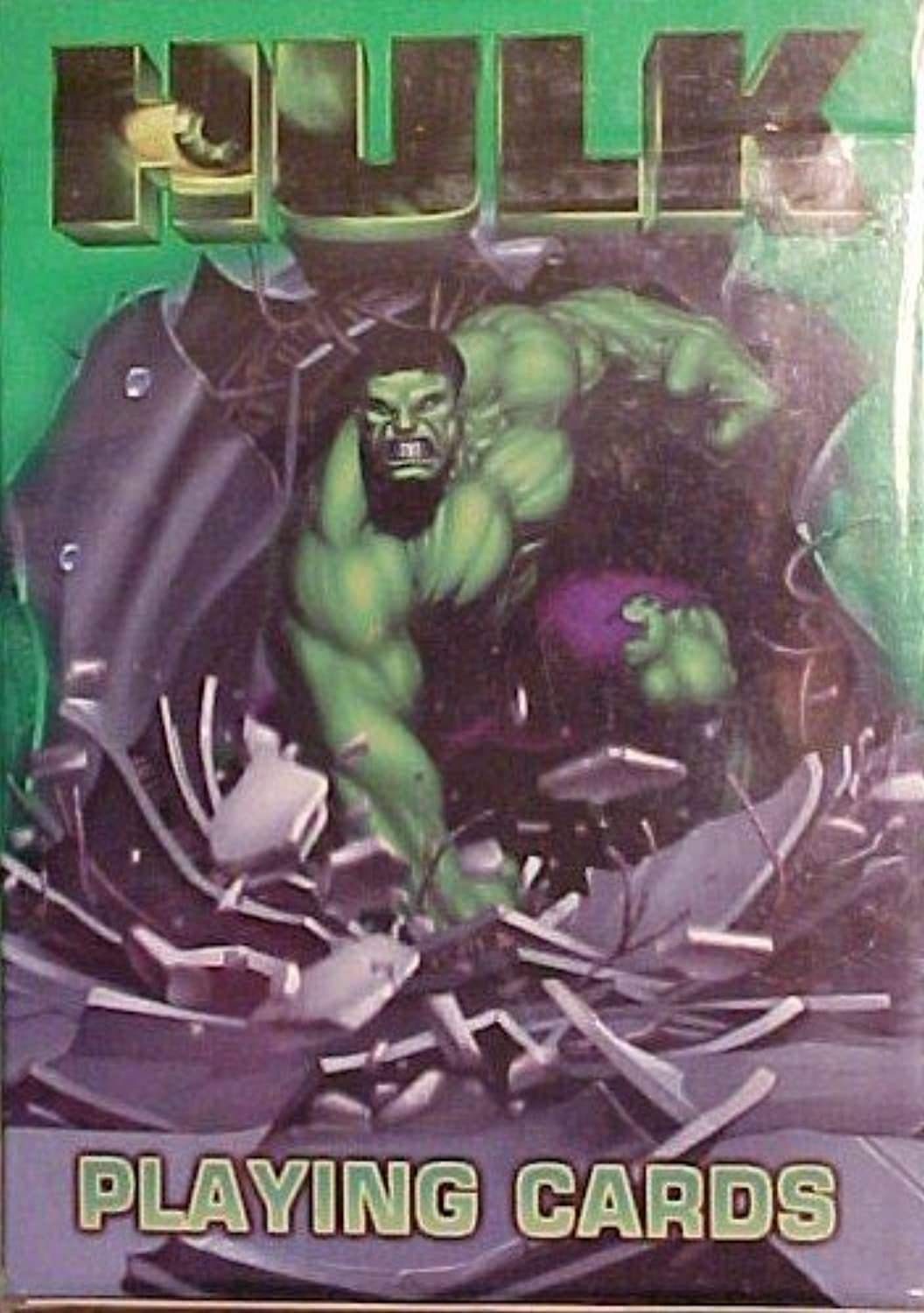 Bicycle and Marvel The Incrotible Hulk 1 Deck of Playing Cards