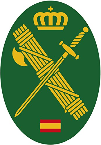 Artimagen Pegatina Oval Logotipo Guardia Civil 45x65 mm.