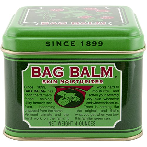 Vermont#039s Original Bag Balm for Dry Chapped Skin Conditions 4 ounce Tin