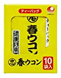比嘉製茶 沖縄県産品 春ウコン茶(ティーバッグ) 10袋入り×4箱