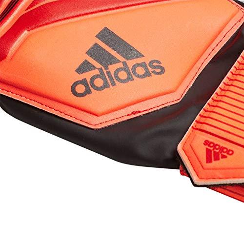adidas Kinder Predator Top Training Fingersave Torwarthandschuhe, Active Red/Solar Red/Black, 3.5