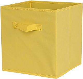 Tissu Panier Bin Boîtes De Rangement en Toile Boîte De Rangement Pliable en Tissu Organisateur De Stockage Cubes Organisat...