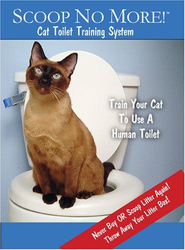 Scoop No More! Cat Toilet Training System