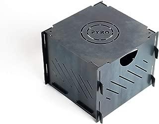 Bad Idea Pyro Cage Mini Portable fire Pit Campfire Stove