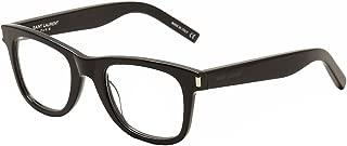 Eyeglasses SL50 SL/50 005 Black/Transparent Optical Frame 50mm