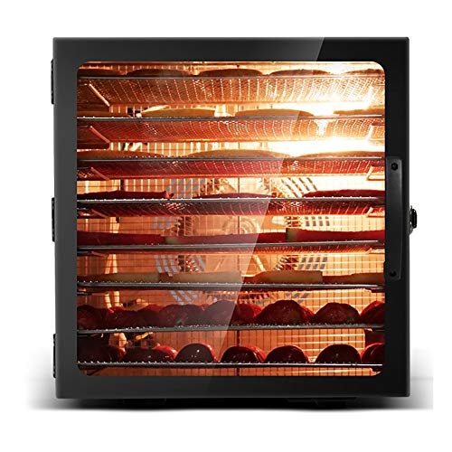 Great Deal! Commercial Stainless Steel Food Dehydrator- Adjustable Timer and Temperature Control,for...