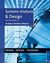 Systems Analysis and Design with UML 4th (fourth) Edition by Dennis, Alan, Wixom, Barbara Haley, Tegarden, David published by Wiley (2012)