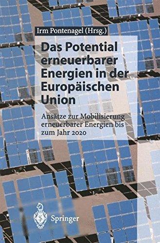 Das Potential erneuerbarer Energien in der Europäischen Union:...
