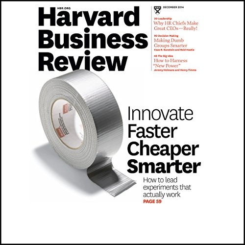 Harvard Business Review, December 2014 audiobook cover art