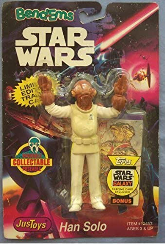 Admiral Ackbar Action Bendable Figure - Star Wars Bend'ems by Just Toys