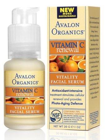 AVALON ORGANICS Vitamin C Vitality - 1 Facial oz Dedication Cheap super special price Serum