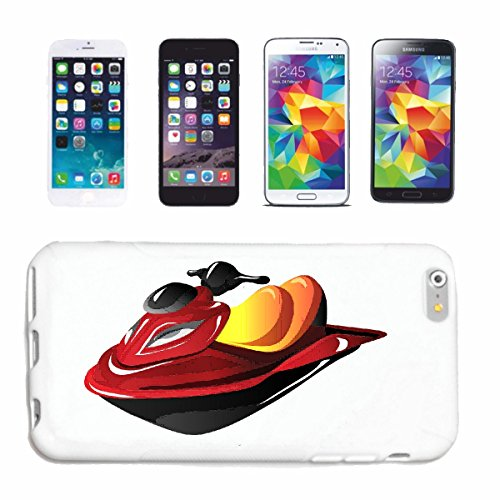 Bandenmarkt telefoonhoes compatibel met iPhone 7+ Plus Jet SKI jetski botten en bootsaccessoires jetski rijder hardcase beschermhoes mobiele telefoon cover smart cover