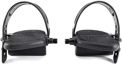 Schwinn Pedal Set Pair W/Straps 9/16