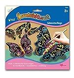 Mammut Spiel & Geschenk 25211550 Scratch Art Schmetterling mit Chenille, bunt