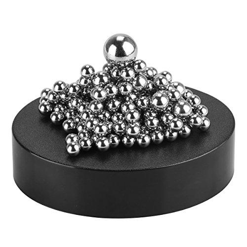 Adkwse Stresskiller DIY Kreativ Kugelspiel Baustein mit magnetischer Sockel Dekoration