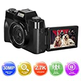 Appareil Photo numérique 1080P Full HD Camera 30.0MP Youtube Appareil Photo...