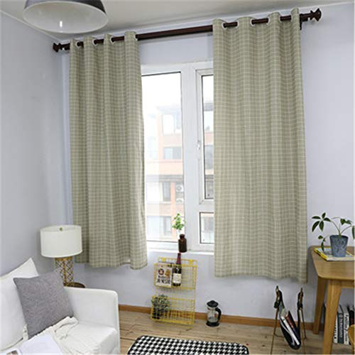 Modern Minimalist Style Waterproof Polyester Curtains Gray Dandelion Printing Quick-Drying Curtains Study Room Living Room Bedroom Blackout Gauze Curtains 2 Pieces