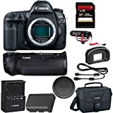 Canon EOS 5D Mark IV DSLR Camera + Canon BGE20 Grip + 256GB SDXC Card + Rode VideoMic GO + More