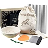Great For Gifting: Richro's Bread Making 7 piece set Includes everything you need to make your own homemade french bread baking supplies. Each of the items included in this set is made of great quality material to maintain its life span. This bread m...