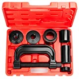Strong Ball Joint,U-Joints and Brake Anchor Pins Press and Removal Tools丨Universal Installation Kit for Pre-pressed Upper or Lower Control Arms