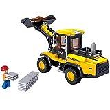 Sluban Construcción Excavadora, Multicolor (Century YOUYI Toys CO, LTD M38-B0538) , Modelos/colores Surtidos, 1 Unidad