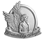 Angelstar 15726 Metal Visor Clip, 2-1/2-Inch, Protected by Angels by Angel Star