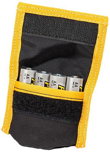 LensCoat BatteryPouch AA 4+4 (Black) Camera Battery Holder for DSLR lenscoat